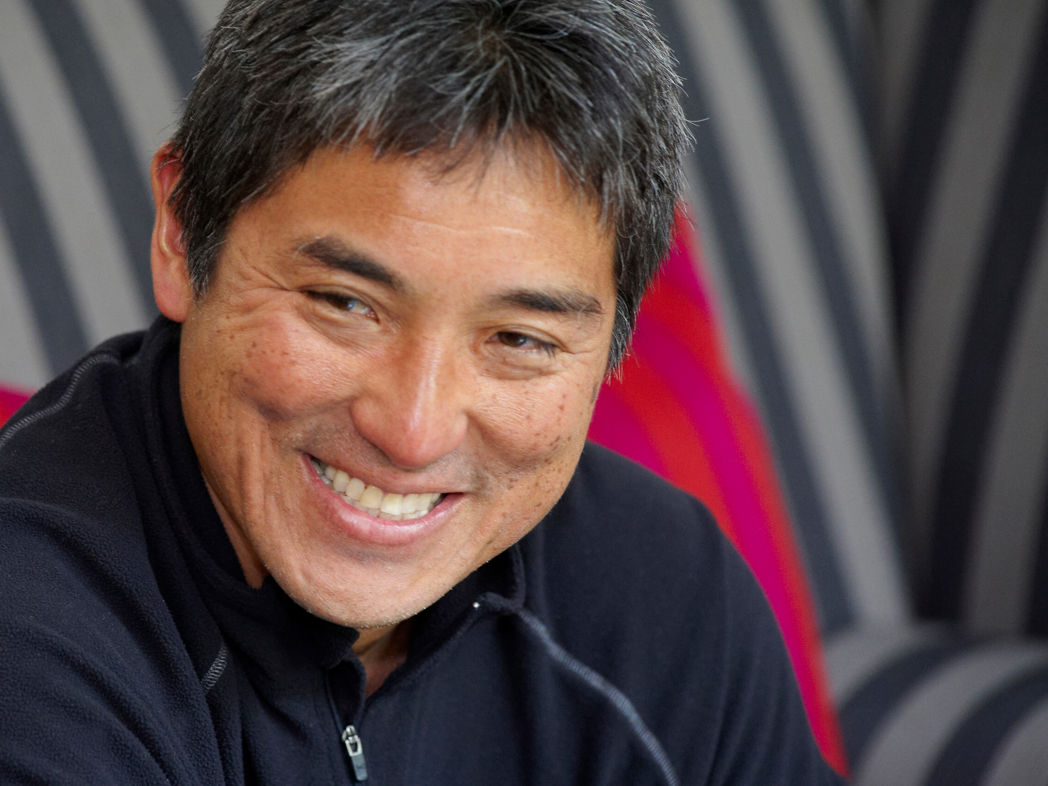 The 63-year old son of father (?) and mother(?), 153 cm tall Guy Kawasaki in 2018 photo