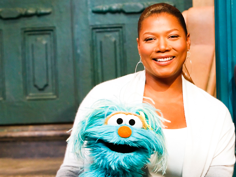 Queen Latifah is enchanting.